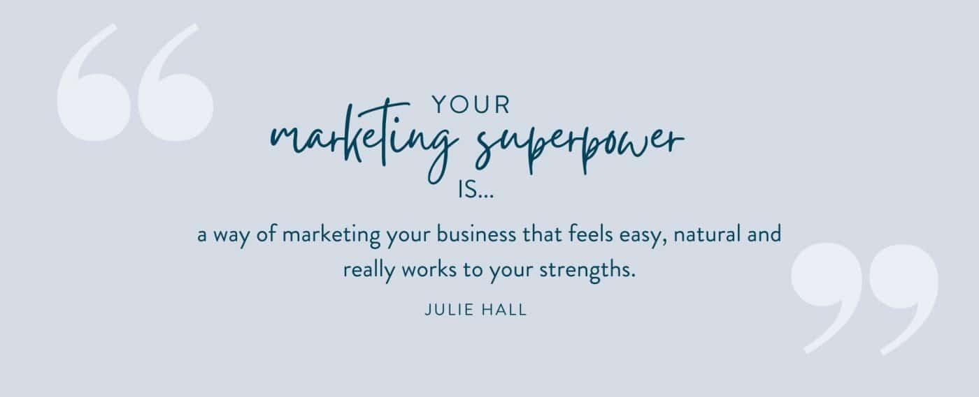 Marketing superpower definition